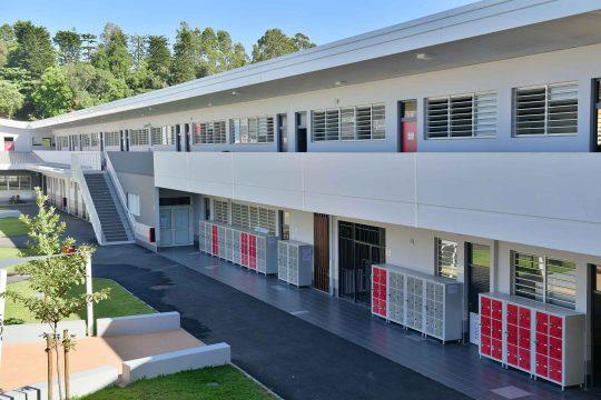 Batical - Réalisations - Lycée grand Normandie