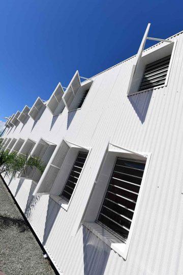 Batical - Centre social - jalousie aluminium