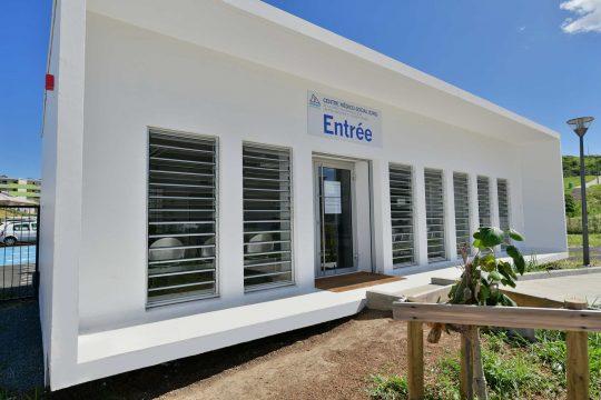 Batical - Réalisations - Centre médico social - jalousie aluminium